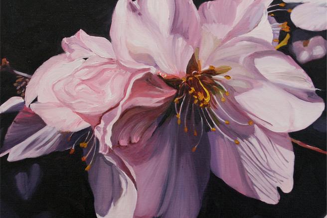 Cherry Blossom Demure detail Marie Cameron 2012