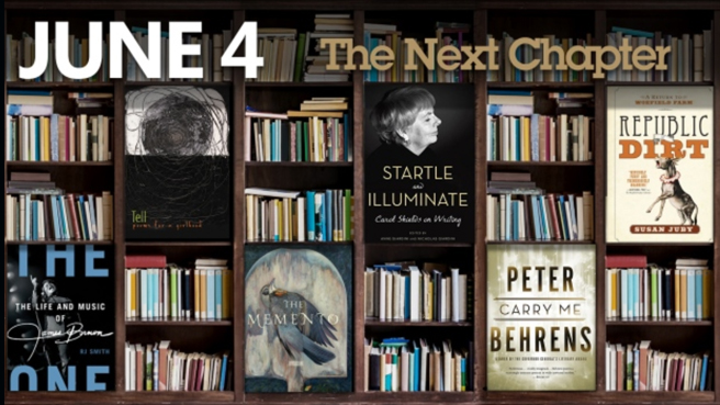 The Next Chapter Shelf - Shelagh Rogers, CBC, The Memento