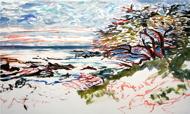 Marie Cameron Monterey Cypress Commission Day 2 c 2012