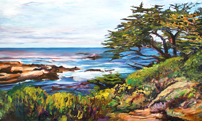 Marie Cameron Monterey Cypress Commission Day 2 h 2012