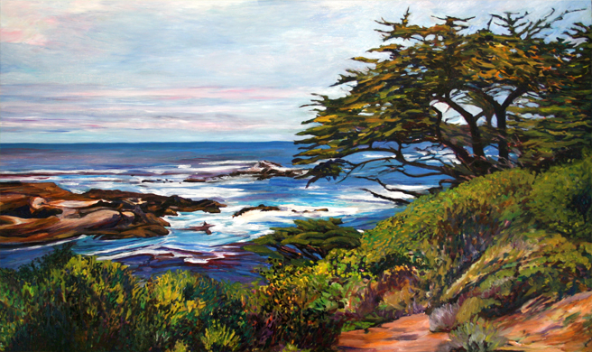 Marie Cameron Monterey Cypress Commission Day 3 2012