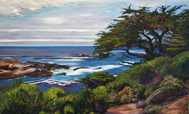 Marie Cameron Monterey Cypress Commission Continues 2012