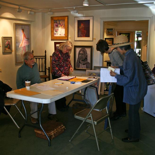 Art Intake Day Hang tags LGMG 2012