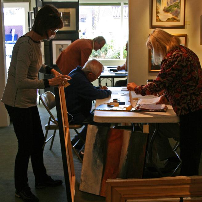 Busy Art Intake LGMG 2012