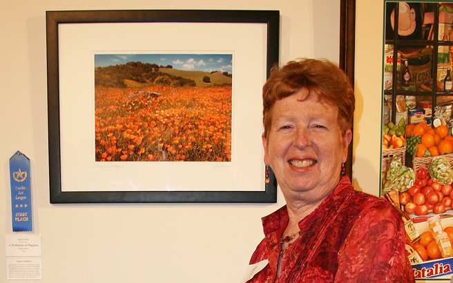 Judy Kramer A Profusion of Poppies First Scapes PAL - photo Marie Cameron