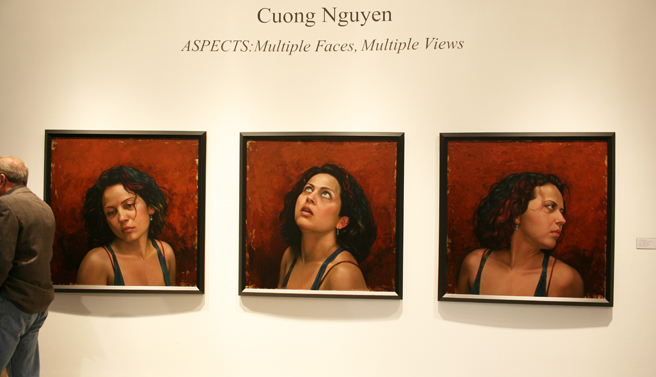 Cuong Nguyen's Portraits of Hope Triptych
