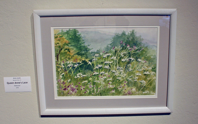 Anna Jacke's Queen Anne's Lace Watercolor