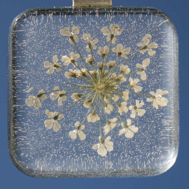 Queen Anne's Lace Pendant  photo by Marie Cameron 2012