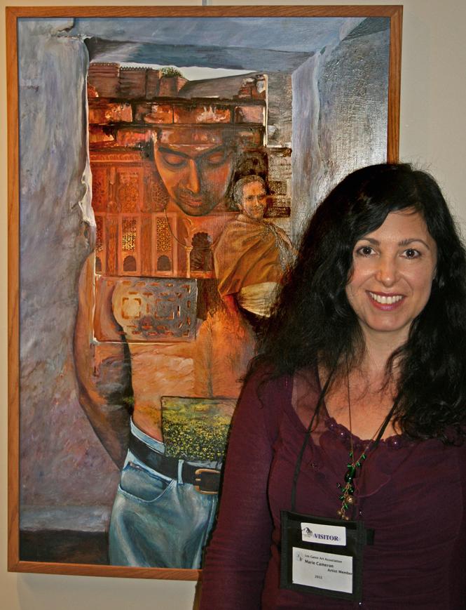 Marie Cameron with Imprint LGAA JCC 2012