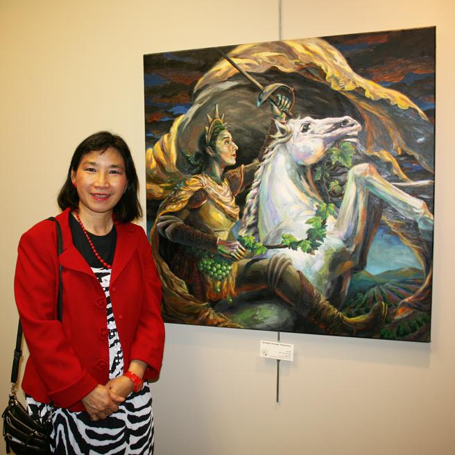 Mei-Ying Dell'Aquila - Strength Through Tribulation LGAA JCC 2012