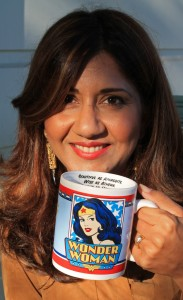 Nilofer Merchant & Mug photo Marie Cameron 2012