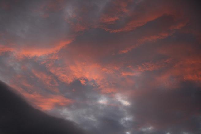 Clouds - blaze Los Gatos Photo Marie Cameron 2012