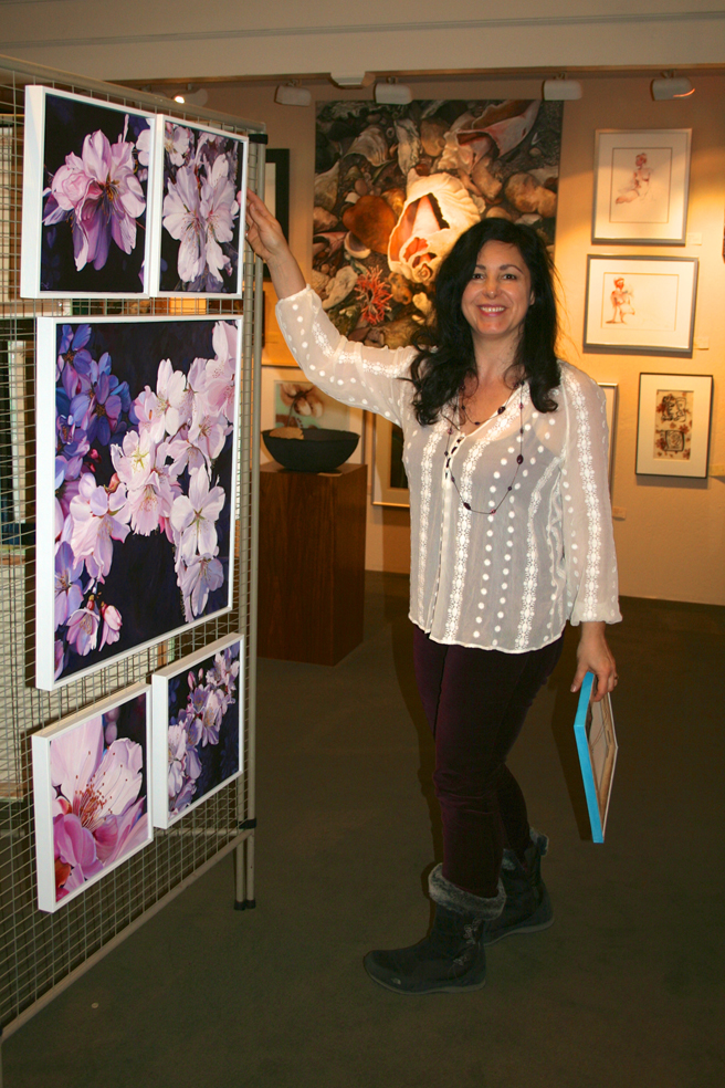 LGMG Featured Artist Installation Cherry Blossoms Marie Cameron 2012