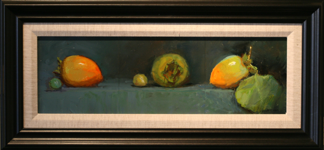 Stages of Life oil painting by Susan Elwart Hall - photo Marie Cameron 2012