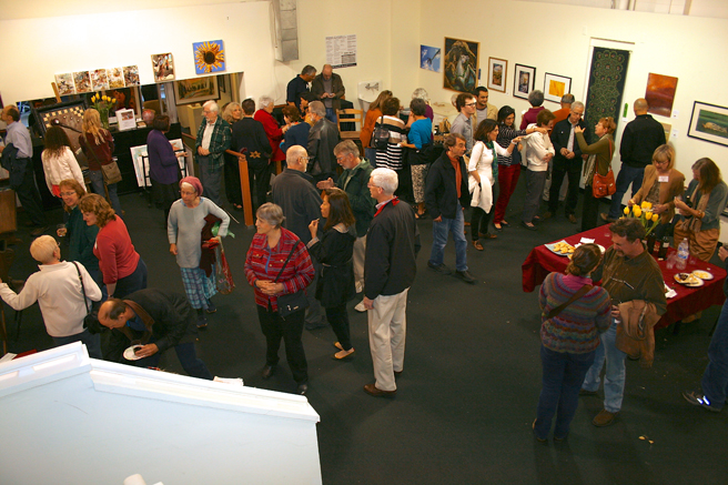 Breath of Spring Reception at the Pacific Art League