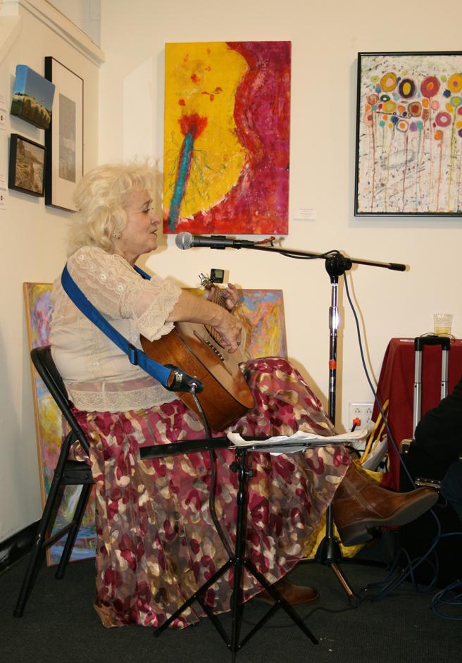 Breath of Spring musician & member artist Geri McGilvray