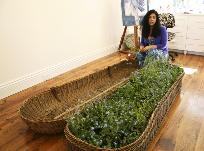 Casket of Forget-me-nots - Marie Cameron Talking 2013