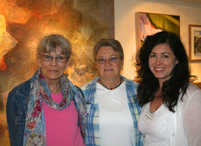 Artists Nancy deWeess, Deborah Gabris & Marie Cameron - LGMG