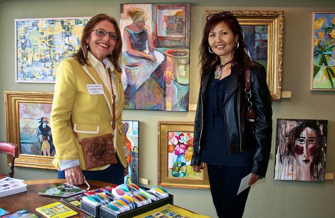 Artists Jeanette Turkus & Kee