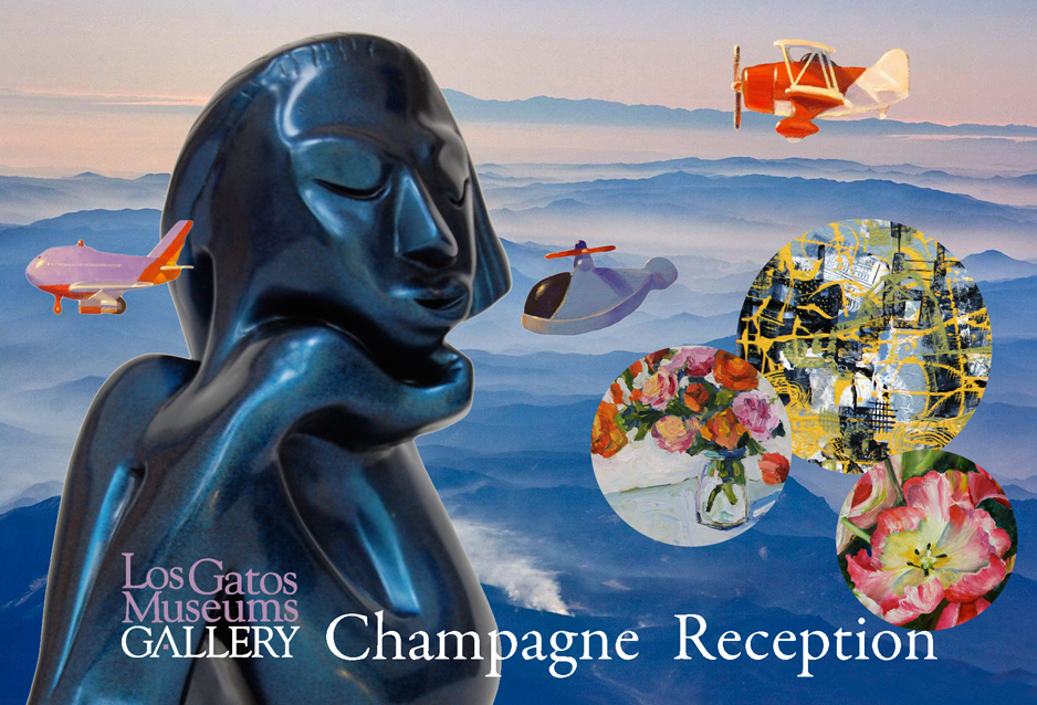 Los Gatos Museums Gallery Champagne Reception