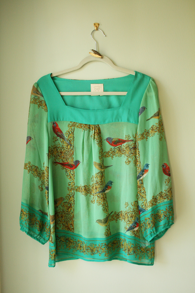 Fine-Fearthered Friends blouse 3