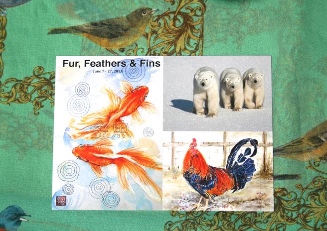 Fur, Feathers & Fins Invite 2013