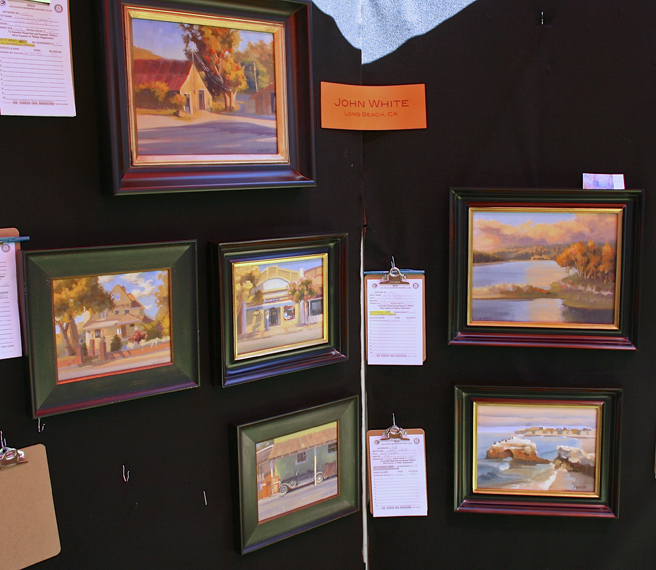 Los Gatos Plein Air 2013 John White