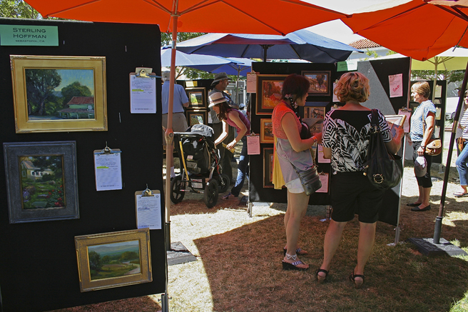 Los Gatos Plein Air 2013 Sterling Hoffman