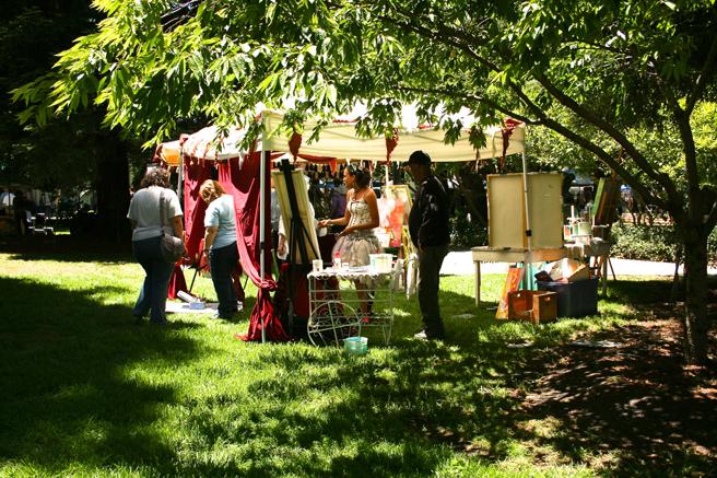 Midsummer Art Festival Triton Jaya King's tent 2013