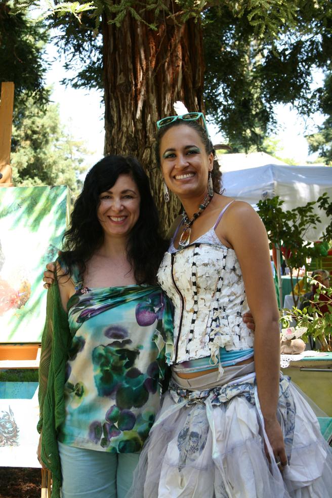 Midsummer Art Festival - Triton Marie Cameron & Jaya King 2013