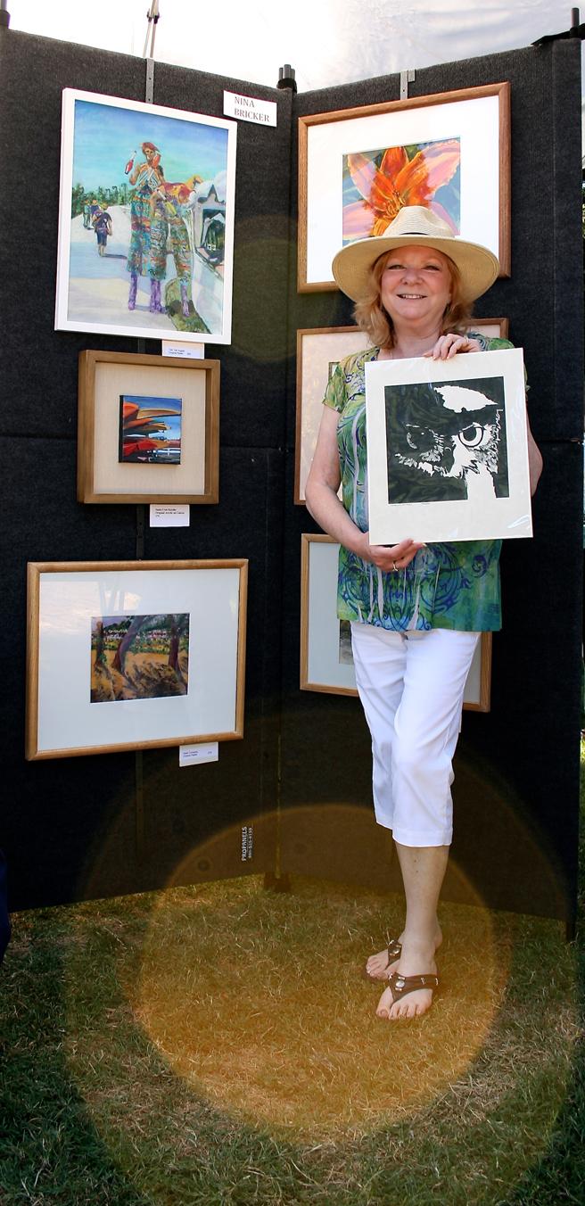 Midsummer Art Festival Triton Nina Bricker 2013