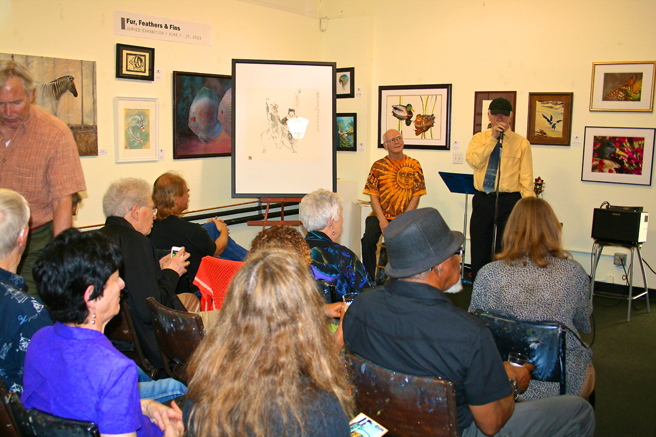 Poetry reading presented by Leah Lubin at PAL - FF&F 2013