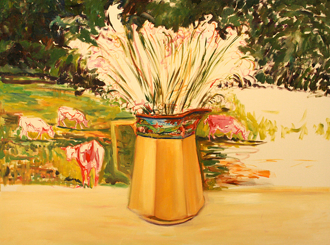 Lily of the Valley and Cows 2 - Marie Cameron  2013.jpg