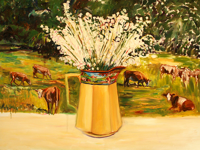 Lily of the Valley and Cows 4 - Marie Cameron  2013