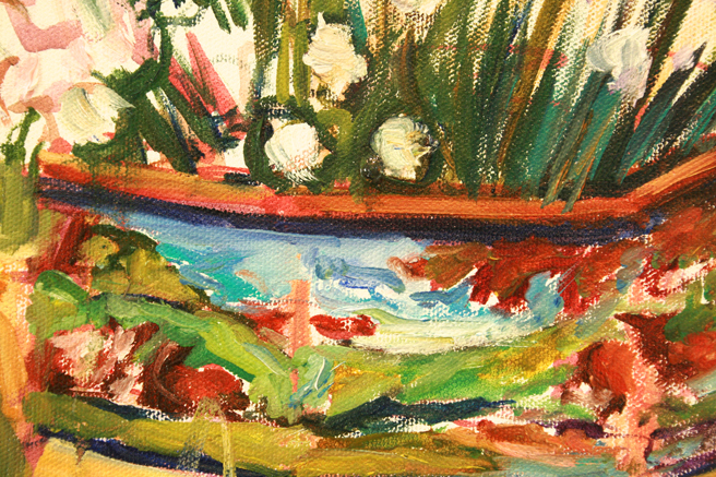 Lily of the Valley and Cows - Marie Cameron detail band 2013