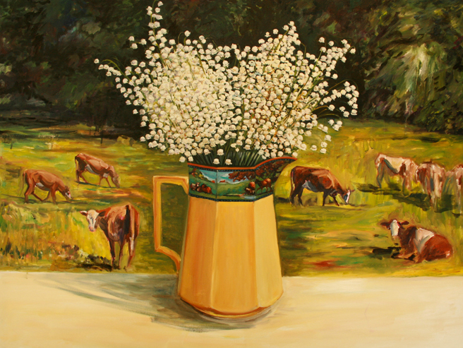 Lily of the Valley with Cows band Marie Cameron 6 2013