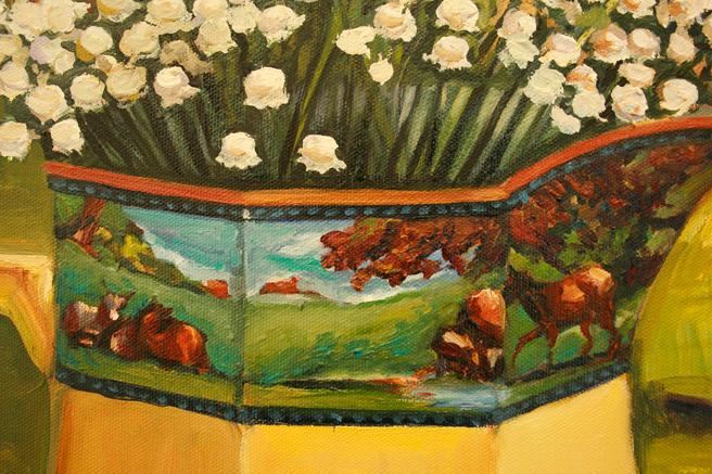 Lily of the Valley with Cows band Marie Cameron reworked 2013