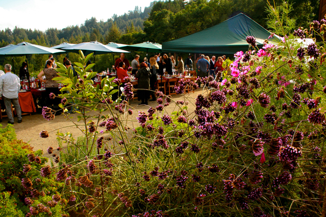 Eco Feast at Love Apple Farm - waiting for the dinner bell - Marie Cameron 2013
