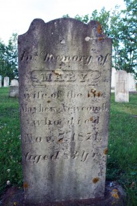 Mary Newcomb- Blomidon Cemetery - Marie Cameron 2013