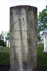 Mayhew L. Newcomb- Blomidon Cemetery - Marie Cameron 2013