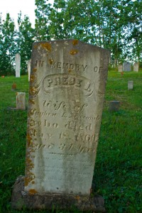 Phebe I. Newcomb- Blomidon Cemetery - Marie Cameron 2013