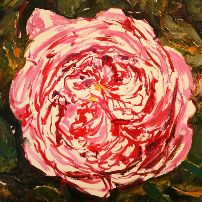 Rose Mandala IV in progress Marie Cameron 2013 3