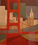 Belinda Lima -  Bridge # 5 - Acrylic, Collage - photo Marie Cameron