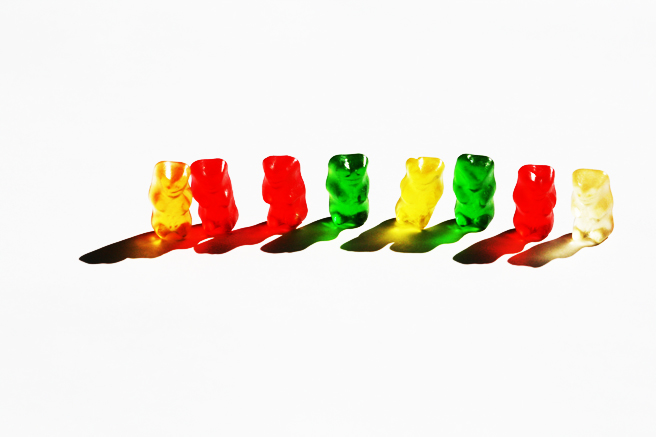 Gummi Bear Queue - photo Marie Cameorn 2013