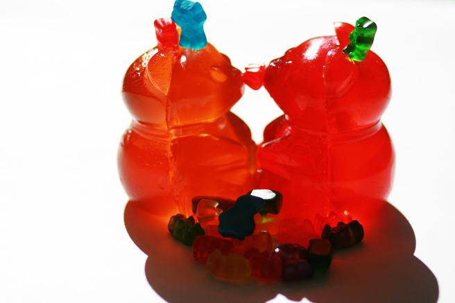 Gummi Bear Smooch - photo Marie Cameron 2013