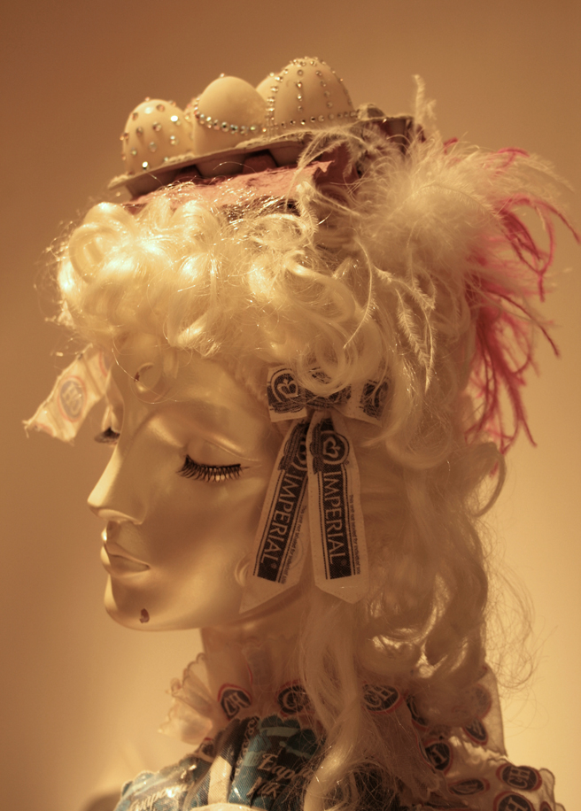 Charlotte Kruk - Let Me Bake Cake - detail of head - Triton - photo Marie Cameron 2013