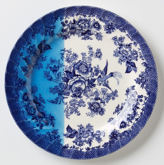 UK earthenware plates sold at Anthropologie