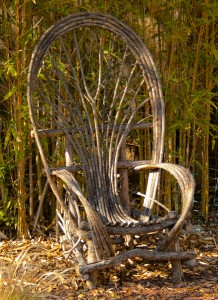Veronica's willow chair