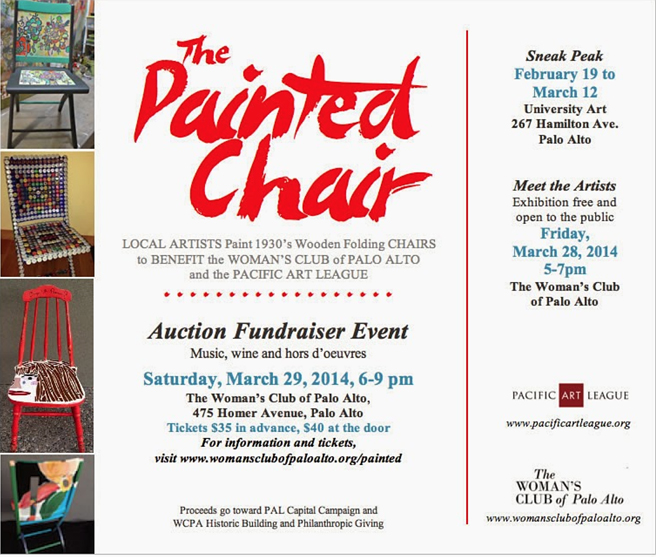 Painted Chair Flyer 2014