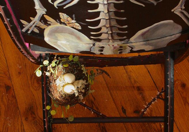 Rose Vanitas Assemblage Options - Nest